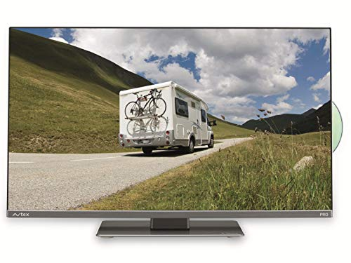 "Avtex L249DRS-PRO 24"" 12V LED Full HD TV for Caravan Motorhome Truck & Boat- Black"