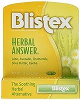 Blistex Herbal Answer Lip Protectant/Sunscreen, SPF 15, .15-Ounce Tubes by Blistex