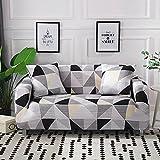 WXQY Sala de Estar Cubierta de sofá elástica patrón...