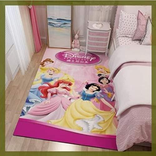 ZRY Alfombra De Dibujos Animados De Disney, Linda Princesa, Sala De Estar,...