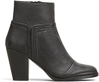 Kenneth Cole New York Women's Natalie Bootie, Black Pebbled Leather, 8 M