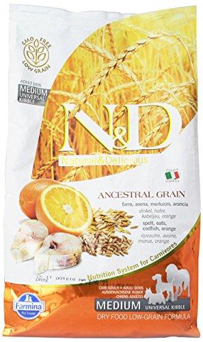 N&d low grain N&D Low Grain con Bacalao y Naranja se