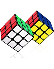 LOVEXIU Speed Cube 3x3, Cube Puzzle, Magic Cube Toy Enhanced Edition Smooth, Anti-Pop Structure rubi Cube, Kleurrijk