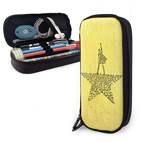 Pencil Case Big Capacity Storage Bag Holder Desk Pen Pencil Marker Stationery Organizer Pencil Pouch Hamilton The Musical with Zipper for School & Office