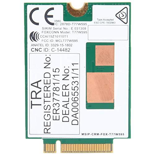 Kafuty Tarjeta de Red del módulo 4G T77W595 Interfaz FDD LTE 150M NGFF para PC portátil HP EliteBook 840 G3 Adopte Larga Vida útil del Producto.