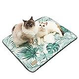 LouisaYork Pet Mat/Pad/Bett Hund Kühlung, Weiches Hundebett für Kleine selbstkühlend Medium Große Hunde Katze, Atmungsaktiv, Nicht Giftig, Hautfreundlich, Keep Pet Cool