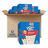 Pop-Tarts Toaster Pastries, Frosted Strawberry, 22oz (72 Count)