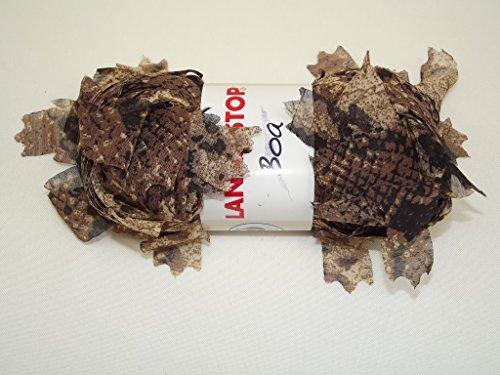 Lanas Stop Boa brun marron 210 100 % Polyester 70 g 28 m
