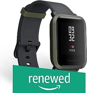 (Renewed) Amazfit Huami Bip Touch Screen Smartwatch A1608 (Kokoda Green)