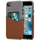 Tasikar Cover iPhone SE 2020 / Cover iPhone 7 / Cover iPhone 8 Custodia Portafoglio in Pelle e...