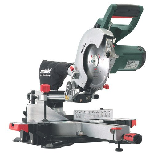 Metabo KGS216M Crosscut and Mitre Saw, 2.5 x 1.6-ft