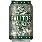 2 x Salitos Cervezal Lagerbie Sudamérica 24 x 0.33L = 48 latas 4.7% vol incluyendo depósito de € 12 DE UNA SOLA MANO