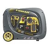FIRMAN W03082 Whisper Series 3300/3000 Watt Gas Electric Start RV Ready Inverter Generator with USB, Black - Best Reviews Guide