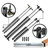 A-Premium Hood Tailgate and Rear Window Lift Supports Shock Struts Replacement for Jeep Gr...