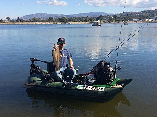 Frameless Fishing Pontoon Boat