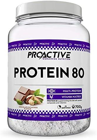 ProActive Worldwide Nutrition, Mezcla de proteinas 80 (Muchos ...