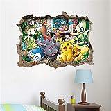 ufengke Stickers Muraux Animaux Mignons Autocollants Mural 3D Look pour Chambre Enfant...