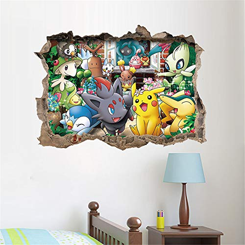 Grand Sticker Mural Pokémon