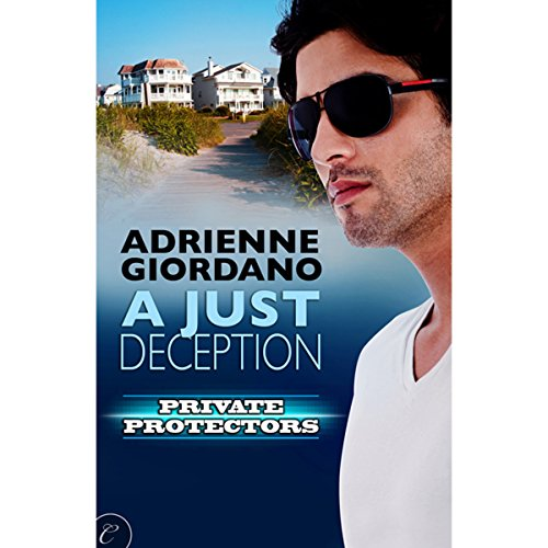 A Just Deception audiobook cover art