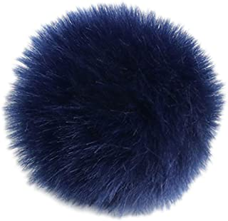 Mentin - Pompón de pelota, 2 unidades, 8 cm, pompón de