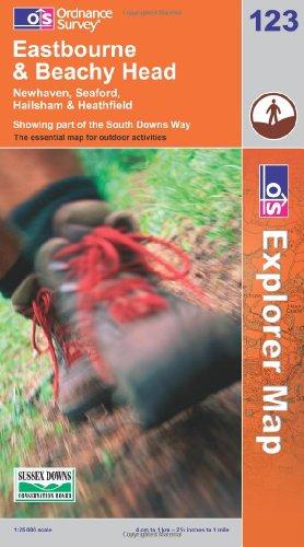 OS Explorer map 123 : Eastbourne & Beachy Head