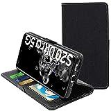 ebestStar - kompatibel mit Samsung Galaxy S20 Ultra Hülle S20 Ultra 5G Kunstleder Wallet Hülle Handyhülle [PU Leder], Kartenfächern, Standfunktion, Schwarz [S20 Ultra: 166.9 x 76 x 8.8mm, 6.9'']