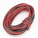 Cable de alambre eléctrico cubierto de silicona resistente a altas temperaturas, suave y flexible,...