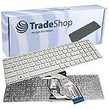Original Laptop Notebook Tastatur Keyboard Deutsch QWERTZ für HP Pavilion 15-bs 15-bs540ng 15-bs139ng 15-bs036ng ersetzt 9Z.NE1PQ.E0G NSK-XDEPQ Weiß
