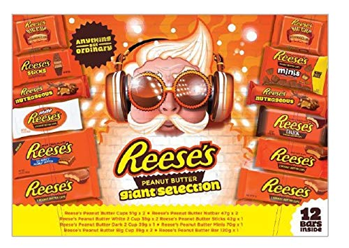 Reese's Peanut Butter Ultimate Giant Selection Gift Tray 623g