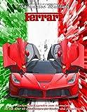 Traumautos Malbuch – FERRARI - Italienische Legenden zum Ausmalen: Set mit über 40 Abbildungen für Kinder und Erwachsene