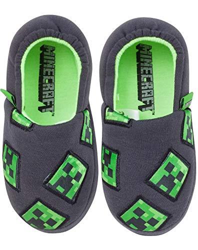 Minecraft Creeper Boy's Slippers (2 UK)