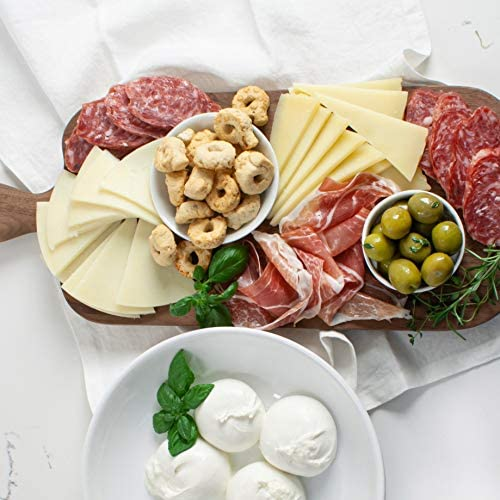 Martha Stewart Antipasto Classics Gift Basket With Italian Cheeses Bright Green Sicilian Olives product image