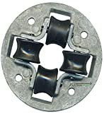 Reelcraft HR1057 Roller Guide Assembly, 0.630~0.906' Outer Diameter