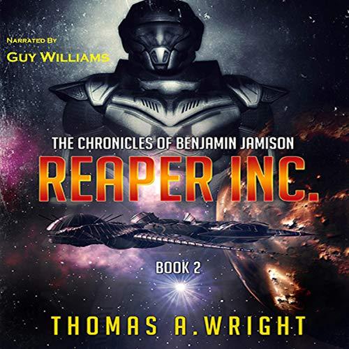 Reaper Inc. audiobook cover art
