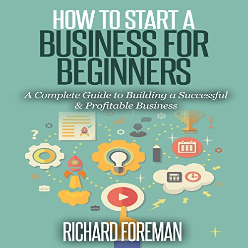 How to Start a Business for Beginners audiobook cover art