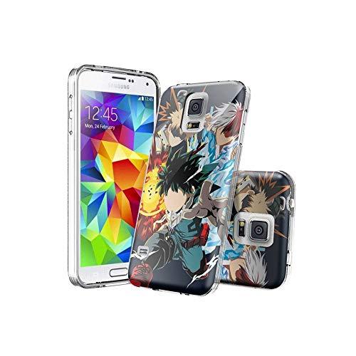 XhWEnfA D#006 Samsung Galaxy S5 Covers, Chiaro Modello Design Morbido e TPU Ultra-Sottile Antiurto Paraurti, Silicone Flessibile con Samsung Galaxy S5 WEnf C#006