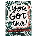TF PUBLISHING - You Got This Word Search Book - Spiral Puzzle and Activity Pad - Over 100 Puzzles and Solutions - Stimulating Brain Booster - Textured Durable Cover Material - 6' x 8'