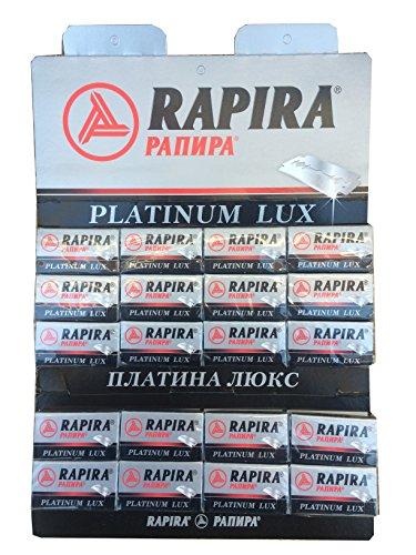 Rapira 100 Platinum Lux lames de rasoir