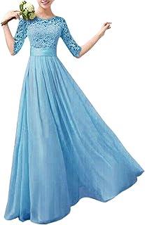 Suchergebnis Auf Amazon De Fur Blaues Maxikleid Minetom Damen Bekleidung