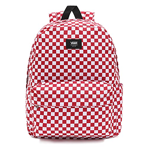Vans Old Skool Check Backpack  Mochila Unisex Adulto  Chili Pepper Checkerboard  Talla
