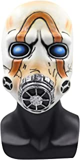 Game Borderlands 3 Psycho Mask Scary Halloween Cosplay Props White