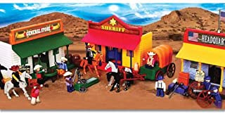 Sun-Mate Corporation Western Town Play Set, Deluxe