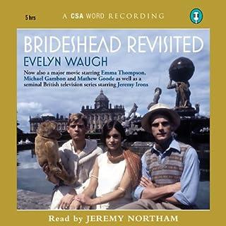 Brideshead Revisited audiobook cover art