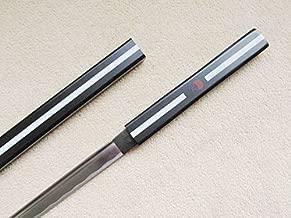 AIT Collectibles S2659 Anime Naruto Sasuke Kusanagi Grass Cutter Sword HABUCHI Blade Black Version 40.7