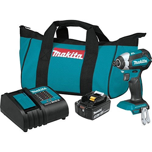 Product Image of the Makita XDT131 18V LXT Lithium-Ion Brushless Cordless Impact Driver Kit (3.0Ah)