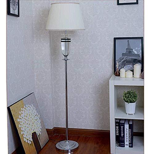 HYY-YY Lámparas de pie, LED Lighting Europeo de cristal, lámpara de pie creativa, moda luces decorativas para salón, dormitorio, estudio de lujo lámpara de suelo, ojo de cuidado de luz vertical