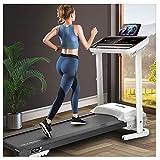 Runningmachine1121 Cinta de correr eléctrica plegable de escritorio con altavoces...