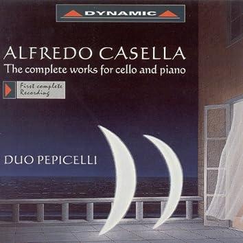 Casella: Cello and Piano Works (Complete)
