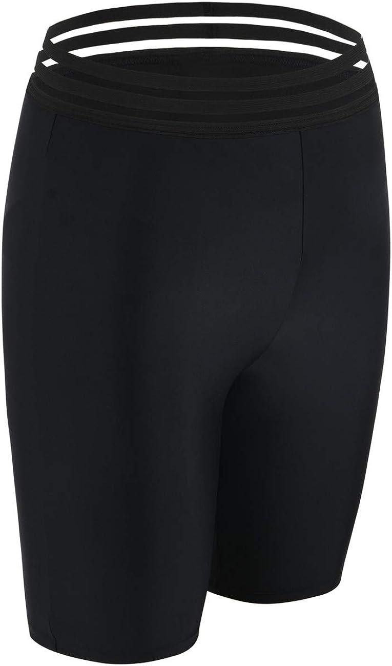 Swimsuit Bottoms Capris Firpearl Womens Sport Board Shorts UPF50