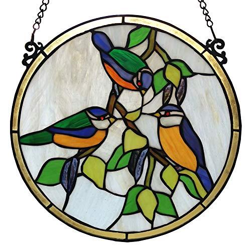 Clayre & Eef Tiffany-Fensterbild Ø 30 cm - 5LL-6033